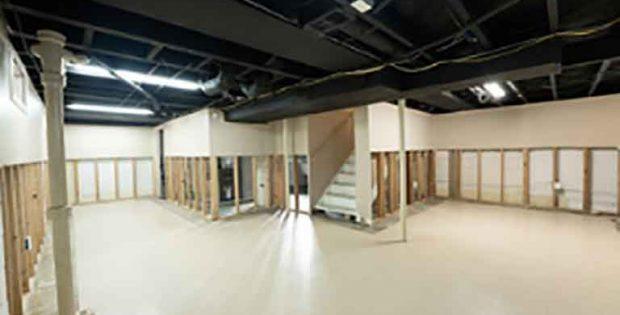 basement drying
