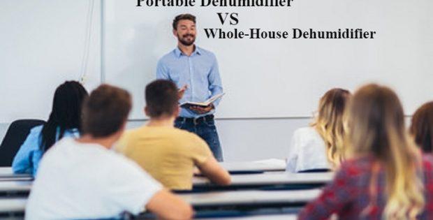 Portable Dehumidifier Vs Whole-House Dehumidifiers